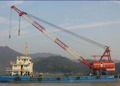 1:48 100t Crane Barge