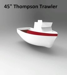 VECTOR FILE **1/16 Thompson Trawler