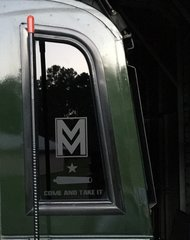 Mod Mafia Stickers Matte Black