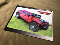 The 2018 Hummer Calendar, 21st Edition