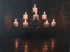 LED * Candle Stand