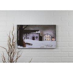 LED Christmastime Canvas