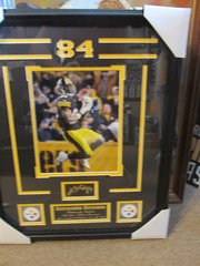 Antonio Brown Franed Print