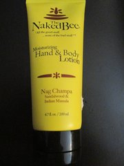 Naked Bee Nag Champa Hand & Body Lotion