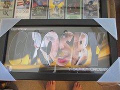 Sidney Crosby Small Framed Print
