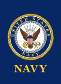 United States Navy Garden Flag