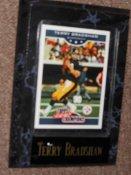 Terry Bradshaw Sports Plaque