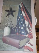 God & Country Canvas