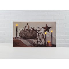 LED Berry Basket Canvas