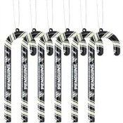 Pittsburgh Penguins Candy Cane Ornament Set