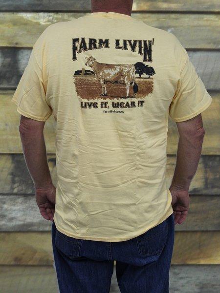 Yellow Haze SS T-Shirt/D Cow