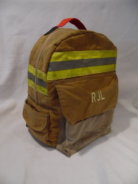 fire school backpack firefighter ems bunker gear and turnout gear recycled bags. Black Bedroom Furniture Sets. Home Design Ideas