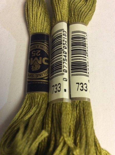 Dmc Embroidery Floss 733 Suncatcher Crafts