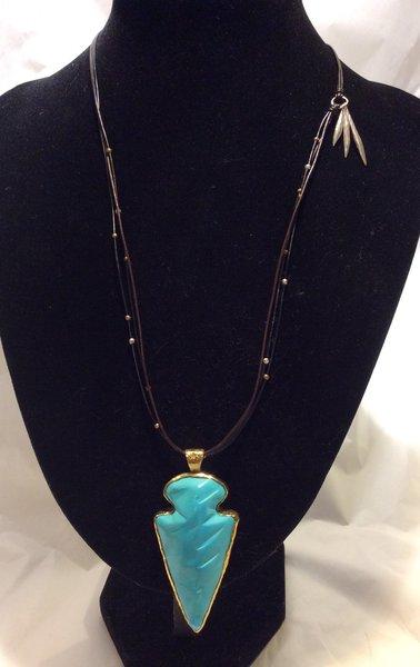Silpada necklace arrowhead pendant n3249 suncatcher crafts silpada necklace arrowhead pendant n3249 aloadofball Images