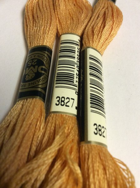 Dmc Embroidery Floss 3827 Suncatcher Crafts