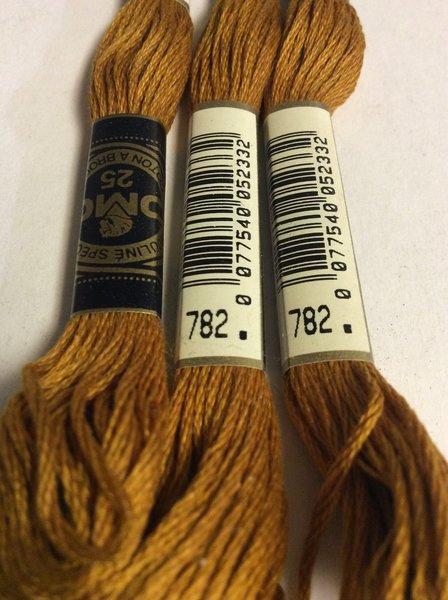 Dmc Embroidery Floss 782 Suncatcher Crafts