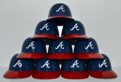 Atlanta Braves (10) Ice Cream Sundae Helmets (free shipping)