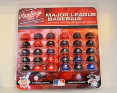 Complete Set of (30) MLB Gumball Mini Baseball Helmets (free shipping)