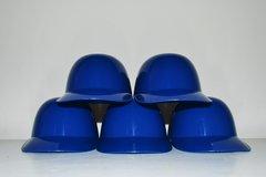 Blank Royal Blue Lot of (5) Ice Cream Sundae Helmets (free shipping)