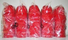 Blank Red (100) Ice Cream Sundae Baseball Helmets (free shipping)