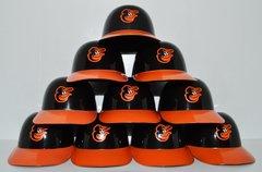 Baltimore Orioles (10) Ice Cream Sundae Helmets (free shipping)