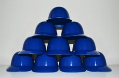 Blank Royal Blue Lot of (10) Ice Cream Sundae Helmets (free shipping)