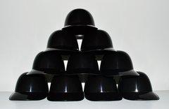 Blank Black Lot of (10) Ice Cream Sundae Helmets (free shipping)