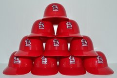 St. Louis Cardinals (10) Ice Cream Sundae Helmets (free shipping)