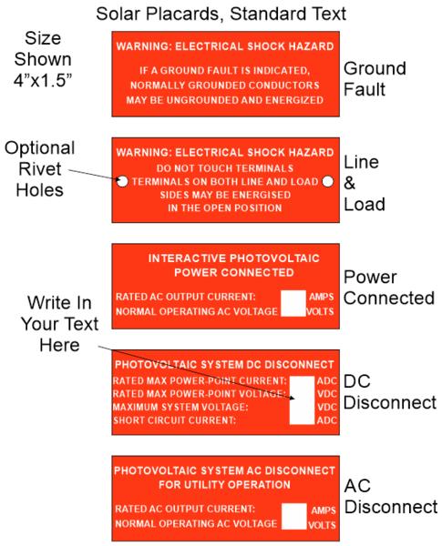 solar placard standard text 4 wide laser engraver pro. Black Bedroom Furniture Sets. Home Design Ideas