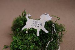 Don't Shop, Adopt Necklace