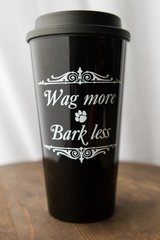 Wag More Bark Less Tumbler