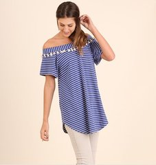 The Willow Off the Shoulder Tassel Tunic