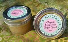 Organic Sugar Scrub, 4 oz.