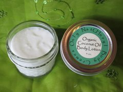 Lotions made with Organic Coconut Oil, 4 oz.