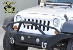 DV8 Off-Road GRABW07 Jeep JK Grille - Paintable White