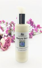 Mature Skin Serum, with Antarcticine, and UpLevity Tetrapeptides. Reduce wrinkles, firms, tones and lifts skin. (Reduces Wrinkle Depth by 44%, Builds & ReAligns Collagen & Elastin Fibers.
