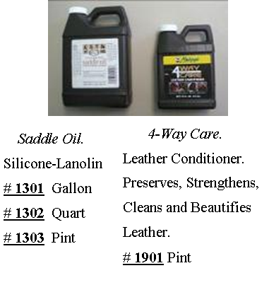 4-Way Saddle Oil & Conditioner