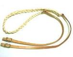 Waxed Nylon Braided Roping Reins