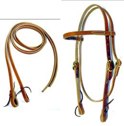 Best Economy Headstall and Reins