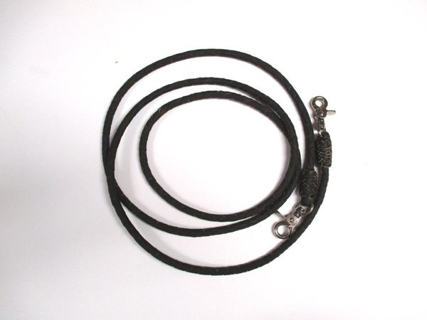 Smooth Round Braided Roping Reins