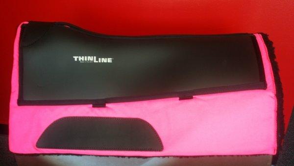 Contoured Cordura Fleece Western Pad with Ultra ThinLine