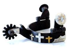 Toddler 3 Crosses, Ant Brown