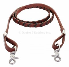 BRAIDED BARREL REINS - REIN19