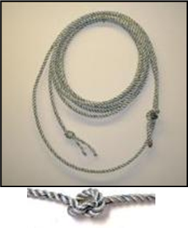 Silver Dot Rope