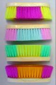 Stiff Multi Color Equine Brush