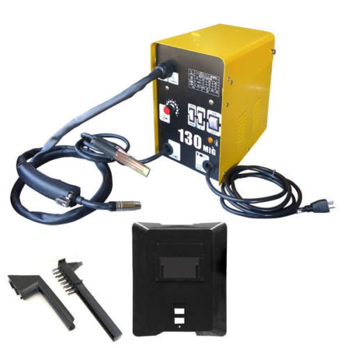 Flux Mig Welder With Auto Wire Feed 130 Amps