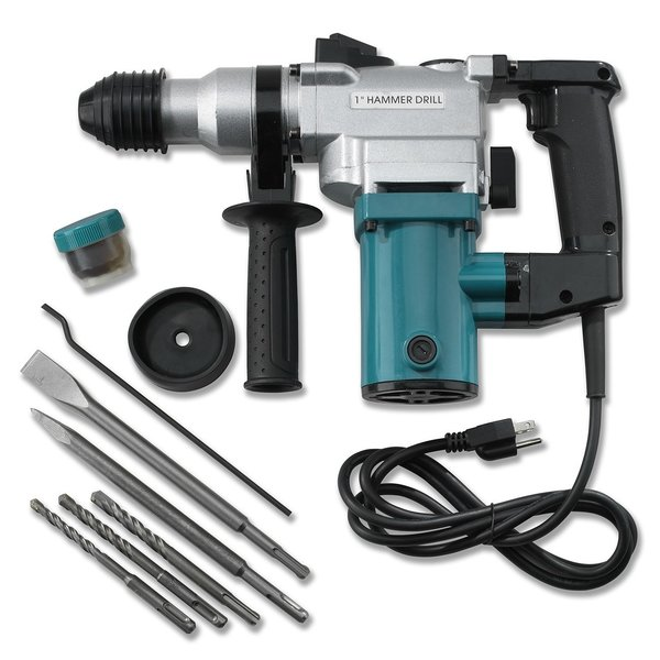"""ELECTRIC HAMMER DRILL 1"""" WITH BITS"""