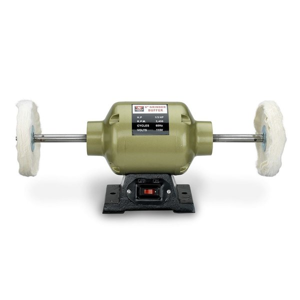 6 Quot Bench Grinder Buffer With 2 Buffing Wheels Welcome To