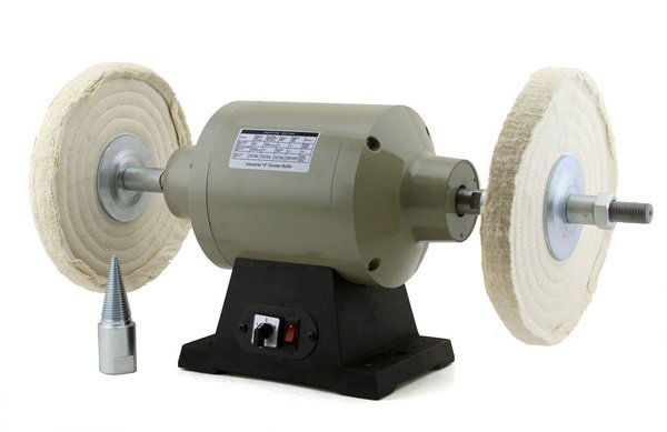 "10"" Grinder Buffer polisher Wheels Dual Speed 1720/3450 1HP 1""x6.5 "" shaft"