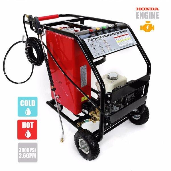 6 5 Gas Hot Pressure Washer W Honda Motor Welcome To